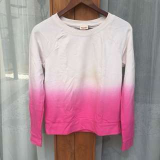 Ombre Sweater White-Pink #MauiPhoneX