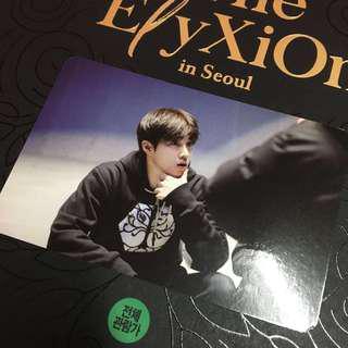 WTT Elyxion in Seoul DVD photocard Suho > Kai