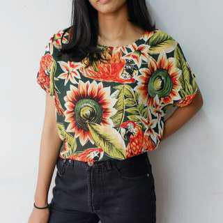 Floral tshirt