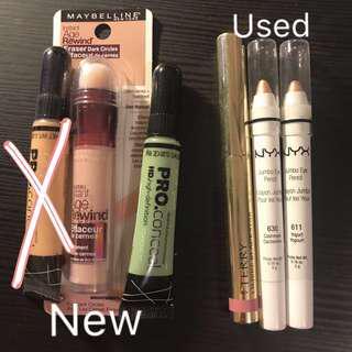 Concealer & eyeshadow sticks