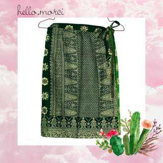 Songket Skirt (rok lilit)