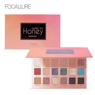 Focallure Eyeshadow Sweet As Honey 18 Colors