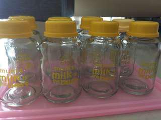 Botol kaca asi baby pax (dapat dijual satuan ataupun semuanya)