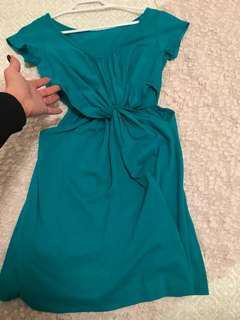 Tropical green Cut out dress xs/S