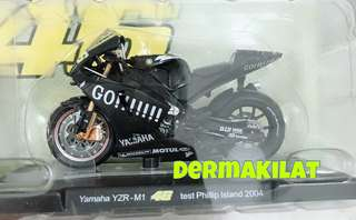 Valentino Rossi Test Philip Island 2004