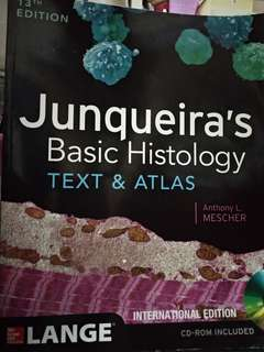 Junqueira's Basic Histology text and atlas 13th edition