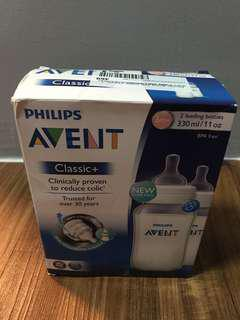 Avent Classic+ Twin Pack 11 oz