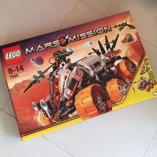 【絶版,全新】LEGO Mars Mission (#7699)