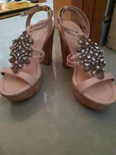 Gracegift寶石涼鞋