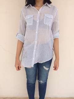 Cotton on stripped shirts