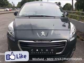 Peugeot 5008 Diesel 1.6 Auto e-HDi ETG