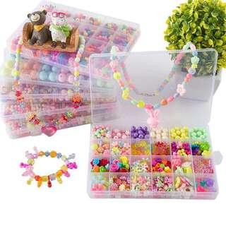 DIY beads jewellery set