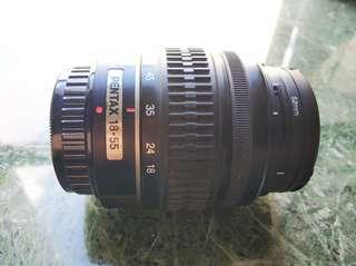 PENTAX Len 18-55mm