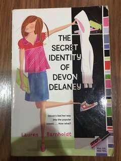 The Secret Identity of Devon Delaney (Lauren Barnholdt)