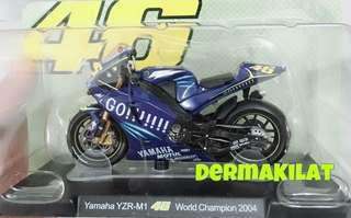 Valentino Rossi World Champion 2004
