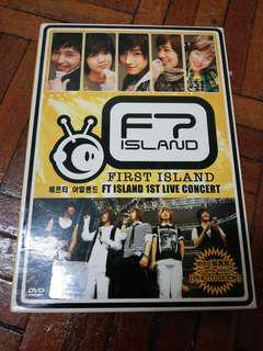FT.Island First Live Concert DVD