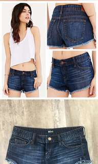 BDG LOW RISE DOLPHIN DENIM SHORTS