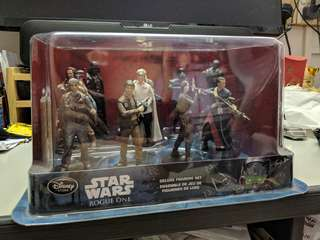 Star Wars Rogue One Figure Statues Playset