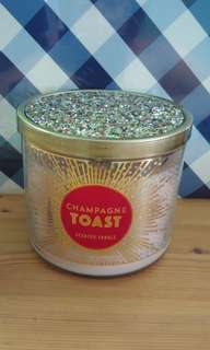 BN Bath & Body Works 3-wick Champagne Toast Candle