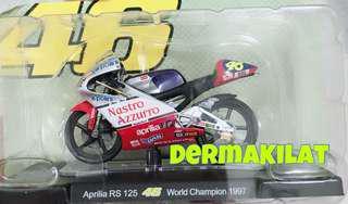 Valentino Rossi World Champion 1997