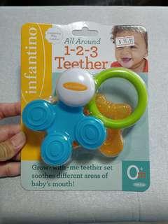 [BN] 1-2-3 Teether Set