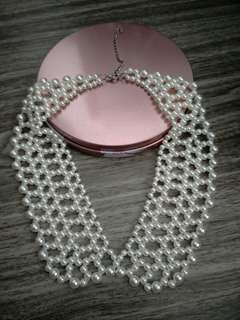 BN Pearl Collar Design Necklace