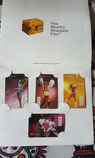 Kodak Olympic 1996 Unused Phone Cards Set