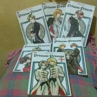Komik Princess Princess by Mikiyo Tsuda