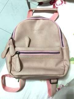 🚚 Pink Mini Bagpack
