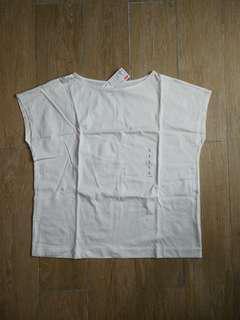 Uniqlo Mercerized Cotton Short Sleeve