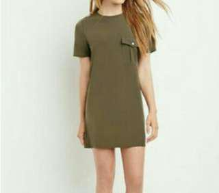 Forever 21 Pocket Shift Dress