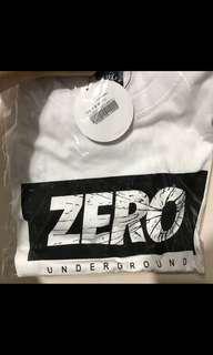 BNWT White ZERO T-shirt