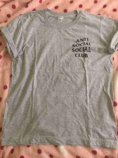 Shirt bundle! (Anti social social club+ nap queen)