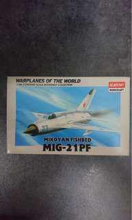 Academy Minicraft 1:144 Mikoyan Fishbed MIG-21PF $40