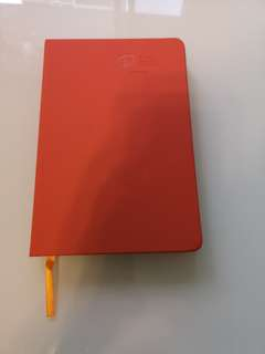 Beautiful orange notebook
