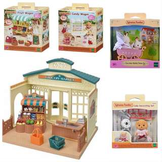 *Sept offer* Sylvanian Families Grocery Market bundle