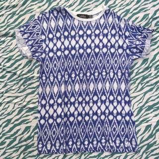 Topman Aztec Shirt Medium-fit
