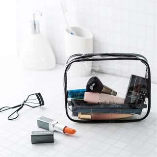 Transparent Travel Toiletries Bag