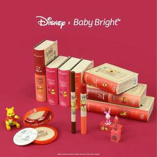 Baby bright x Winnie the Pooh lipsticks