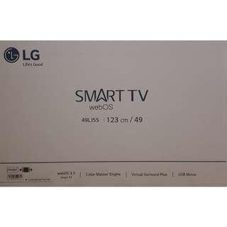 """BRAND NEW LG 49"""" webOS 3.5 Smart Tv 49LJ550T"""