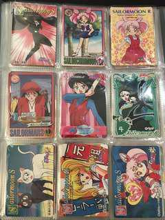 $5@ Sailormoon #2 美少女戰士 白卡