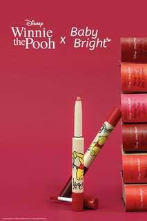 Disney x Baby Bright: Honey Duo Lip Pencil and Liquid Lipstick