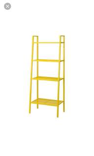 Ikea LERBERG SHELF YELLOW