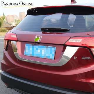Honda HRV Trunk Trim Rear Trunk Lid Tailgate Door Cover Trim