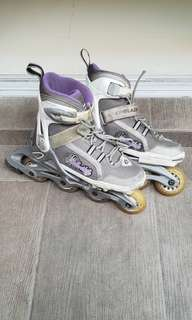 Kid Adjustable Rollerblades (girl design) 33-36.5