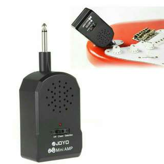 Mini Portable Amplifier w/ battery & headset