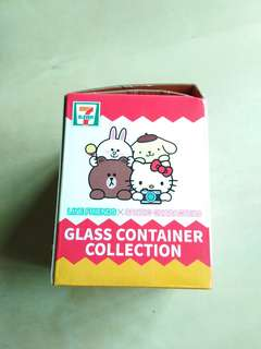 7 Eleven My Melody Glass Container