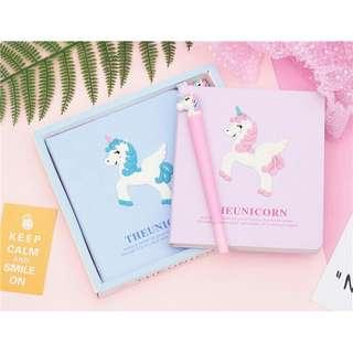Unicorn Notebook Book