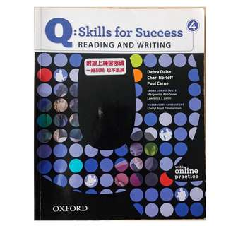Skills for Success 4 Reading and Writing #換你當學霸