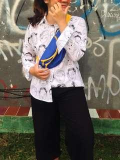 #MAUIPHONEX IMPORT ULZZANG SHIRT // TIDAK BISA BARTER